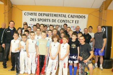 Parcours Multi-Boxes pour les jeunes à Louvigny le 22 Décembre 2010 à la Salle Yannick Noah
