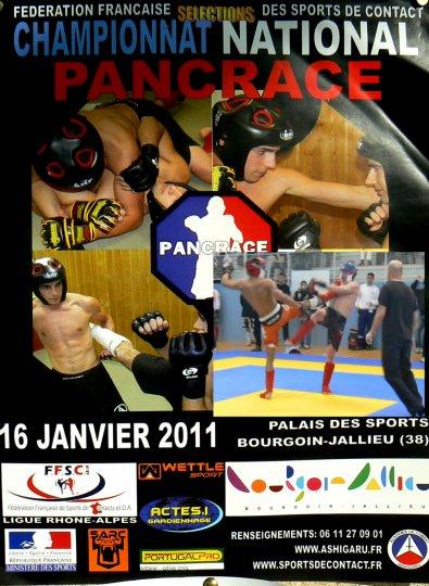 Résultats des Sélections aux Championnats Nationaux de Pancrace à Bourgoin Jailleu