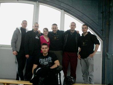Résultats 1/4 de finales chpt de france de kick boxing ELITES/ESPOIRS DU 13/02/11 PARIS