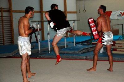 Sélection équipe de france de kick boxing !!