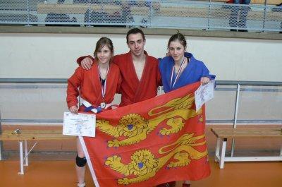 Championnats de France de Sambo Sportif à Molsheim Alsace le 04 février 2012