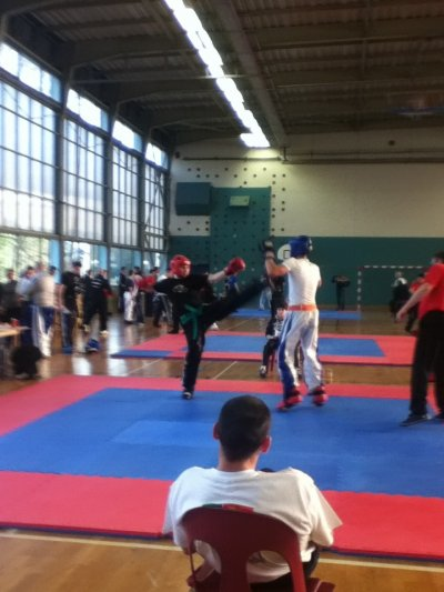 Chpt de france Espoirs Kick boxing et Chpt national Light contact (full et kick)