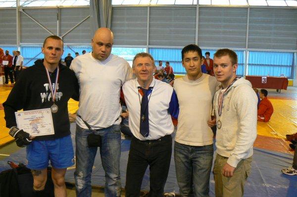 Résultats des Championnats de France de Sambo Combat pour les Combattants de la Section Pancrace