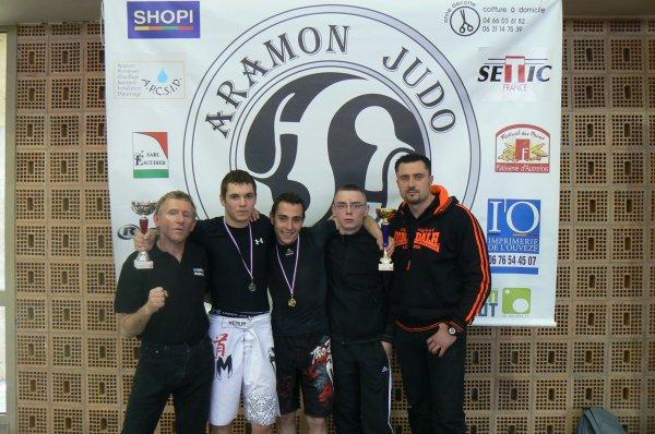 Pancrace Championnat National Educatif à Aramon le 08 Avril 2012 résultats