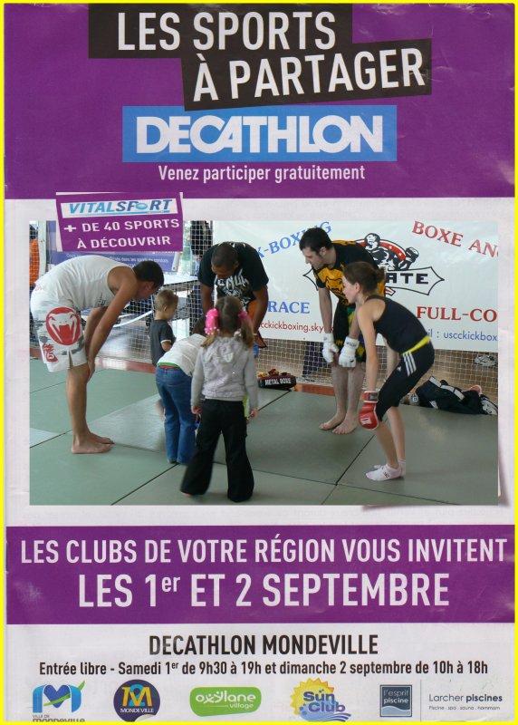 VitalSport Décathlon Mondeville les 1er et 2 septembre 2012