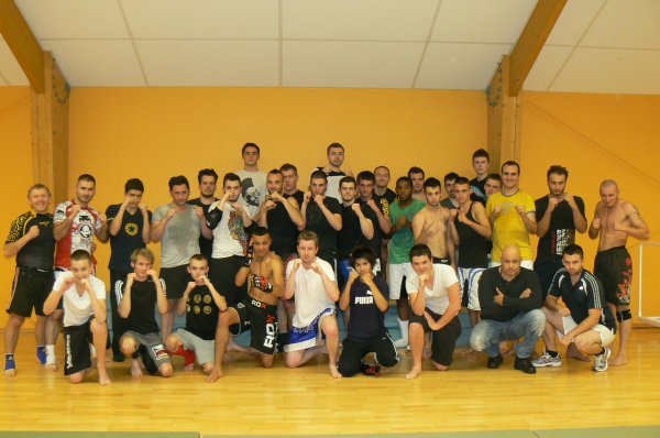 Photos de Groupe Section USCCKickboxing/ Pancrace
