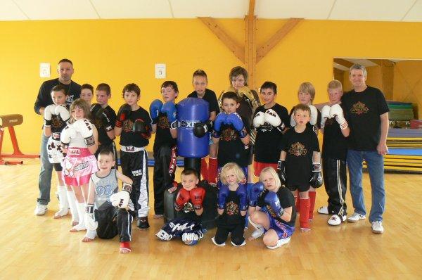Photo de Groupe Section USCCKickboxing/ Full-Contact le Mercredi pour les plus jeunes