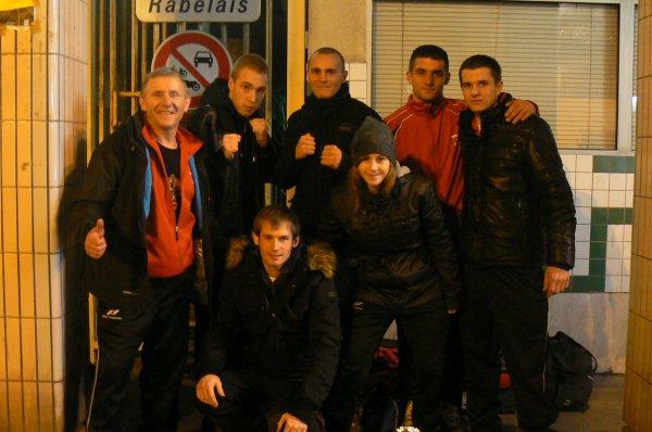 Résultat de la Compétition de Grappling et Pancrace à Montrouge Paris le 16 Décembre 2012