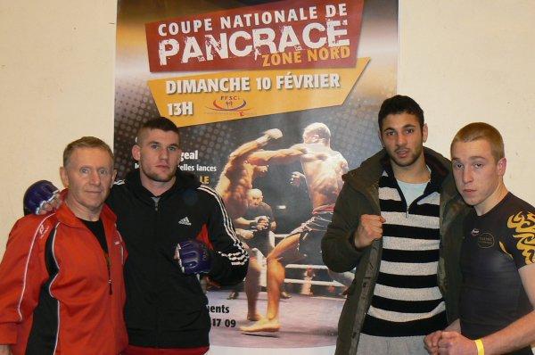 Coupe Nationale de Pancrace Zone Nord à Mantes-Villes le 10 février 2013