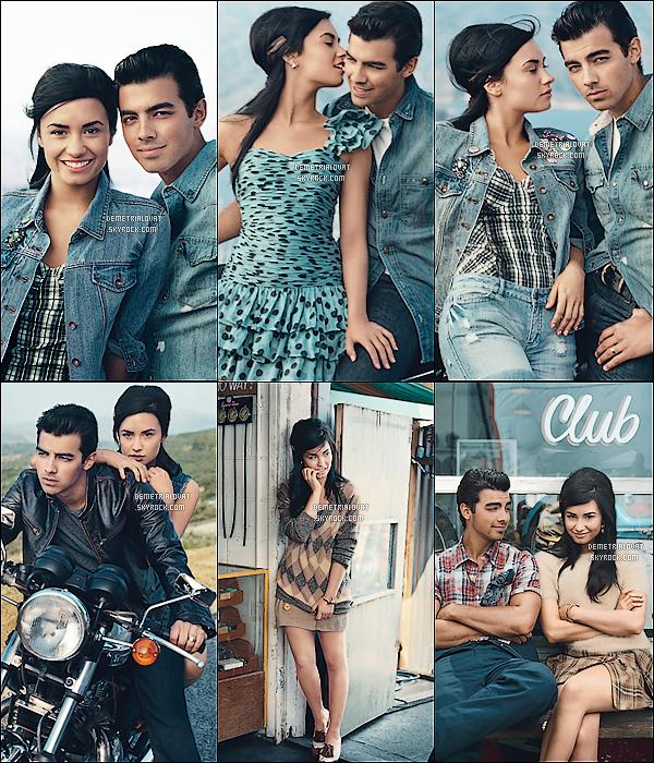. Découvrez ou Re-découvrez le magnifique photoshoot de Demi & Joe Jonas !.