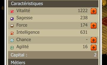 voila mes nwe stats