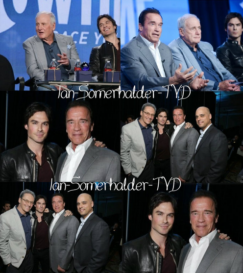 #Ian Ian étais aux TCA Panel 2014 ''Years of Living Dangerously'