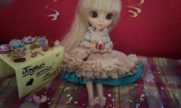 Participation au concours de polka-dolls-fabrics!