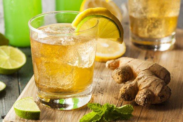 Recette du jus de Gingembre au citron vert pour perdre du poids