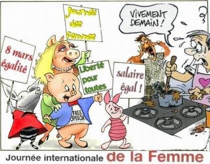 être une femme...Bonne journée et bonne fête à toutes les femmes !