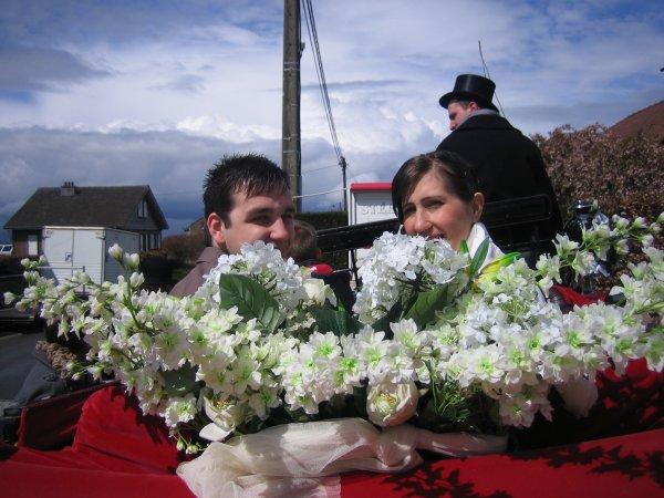 VIVE LA MARIEE ! Beaucoup de bonheur à Rachel et Cédric et leur petite puce Eloïse