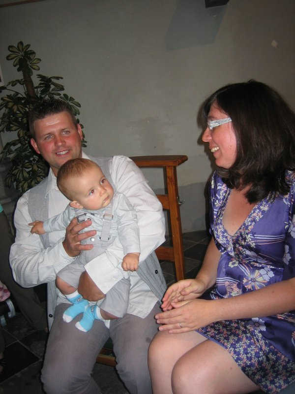 Baptême Adam et Eléna
