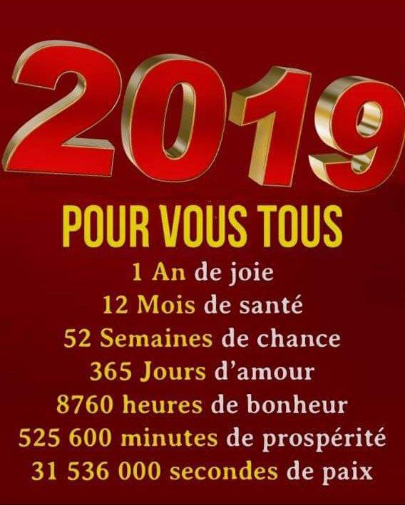 Bonne Annee 2019 Blog De Alcflersois