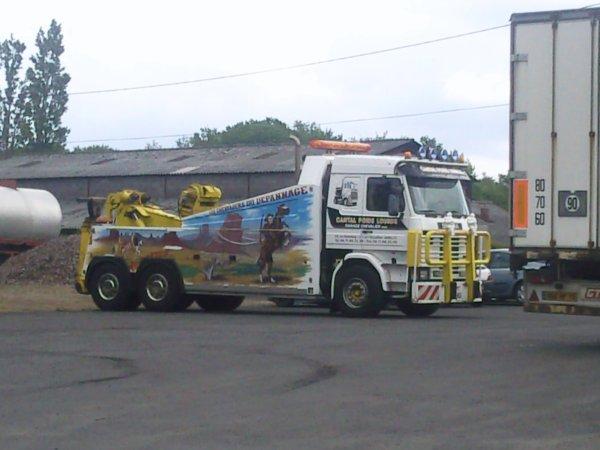 team scania truck