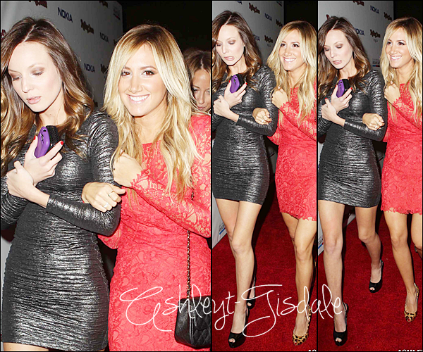 18 Novembre: Ashley à l'after-party au ''ROLLING STONE AMERICAN MUSIC AWARDS'' à Los Angeles.