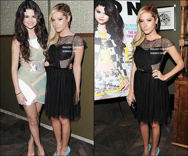 29/01/2013 : Ashley était à ''NYLON Magazine February Issue party'' à West Hollywood.