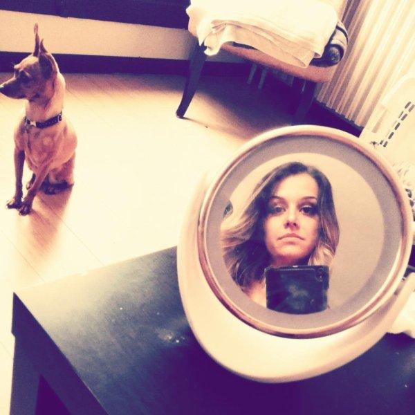 L'effet miroirs ! :)