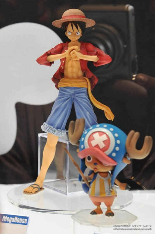 One Piece P.O.P 2 ans plus tard New World (colorisation) Luffy,Zorro,Nami et Chopper