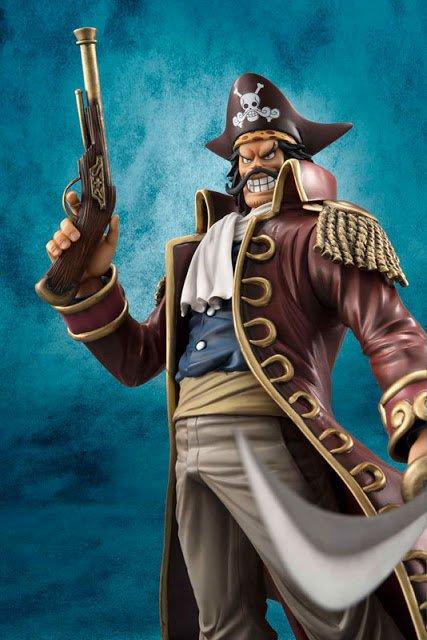 One Piece P.O.P Shiki et Gol D. Roger