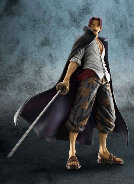 One Piece P.O.P nouvelle version de Shanks
