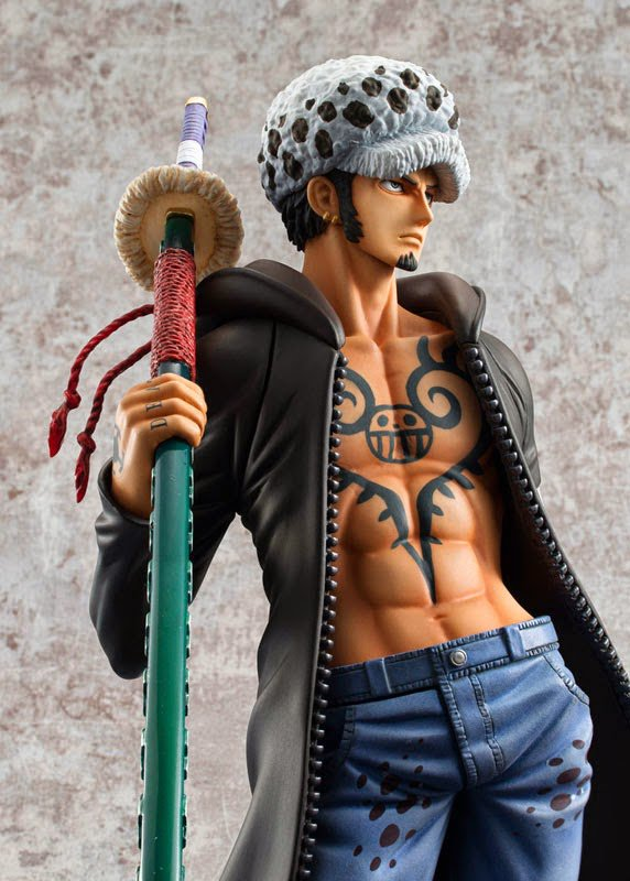One Pièce P.O.P Trafalgar Law version Dressrosa