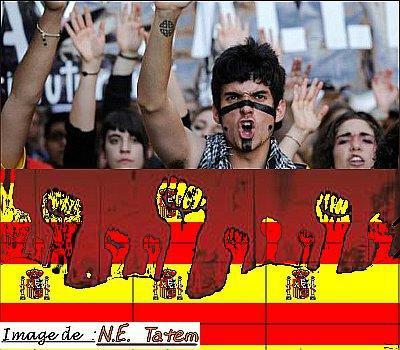 Crise en Espagne (septembre 2012)Indignés en Espagne: violences à Madrid lors d'une manifestation près du Congrès (le nouvel Observateur)