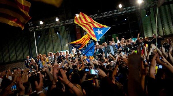 Catalogne: pourquoi l'indépendance n'est pas pour tout de suite Actualité Monde  Europe  Par LEXPRESS.fr , publié le 28/09/2015 à 16:53 , mis à jour le 29/09/2015 à 07:31