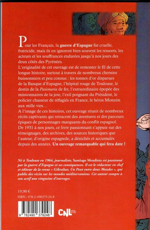 """Livre sur la guerre d'Espagne : """"Histoires retrouvées de la guerre d'Espagne de 1931 à nos jours"""""""