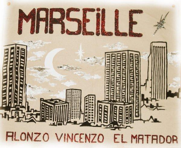 Banderole pour le concert d' El Matador, d'Alonzo et de Vincenzo le 18.09.2010