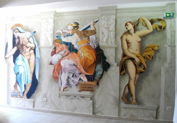 Reproduction de la Chapelle Sixtine