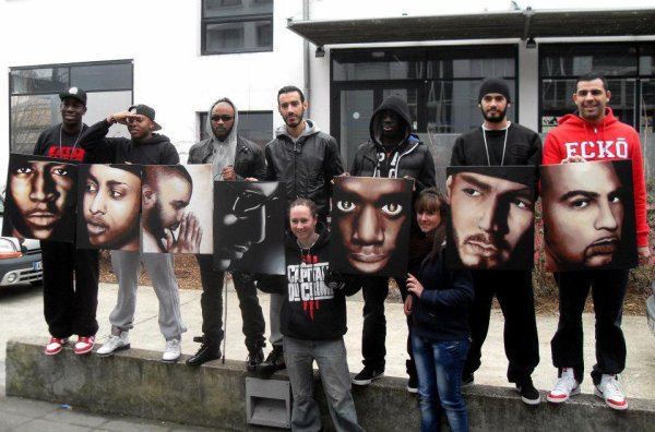 La Fouine et Capitale du Crime - Photos de Groupe