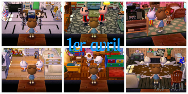 Photo N°20 → Sa me saoule animal crossing... eh ben non, POISSON D'AVRIL♥ !