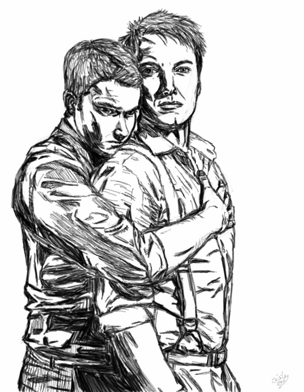 Jack and Ianto