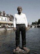 L'homme sur sa bouée