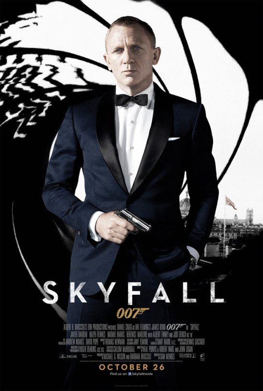 James Bond Skyfall 007