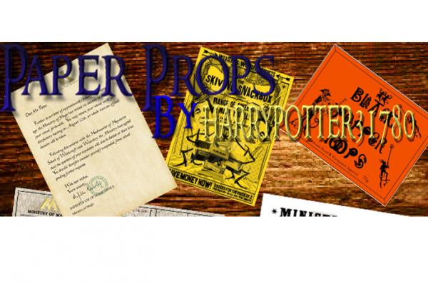 Des nouveuax Paper Props