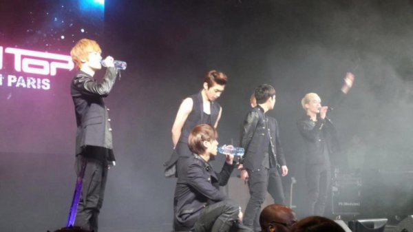 Compte rendu du 9 Févier 2013 ~ Teen Top in Paris. ♥