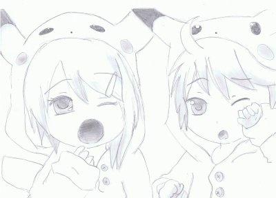 Pikachu Vocaloid    ' ^ '