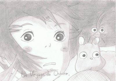 Le voyage de Chihiro .