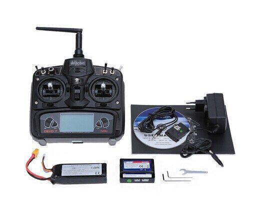 RC Quadcopter avec l'émetteur de OSD/DEVO 7 et la caméra HD de 800TVL