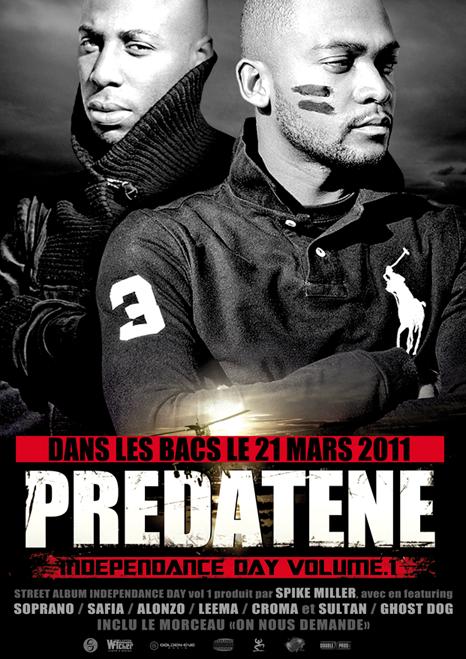 """PREDATENE   """"INDEPENDANCE DAY vol.1"""""""