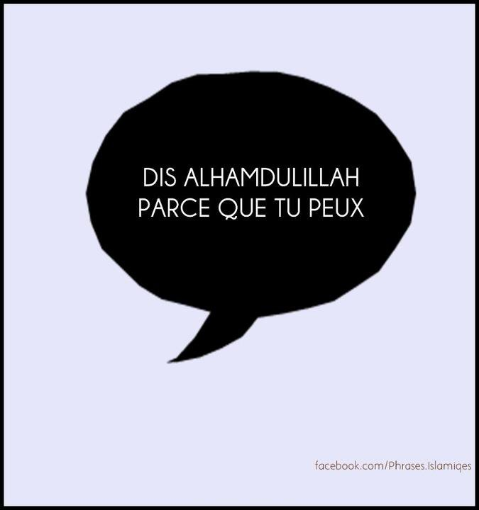 SAY  : AL HAMDULILLAH <3