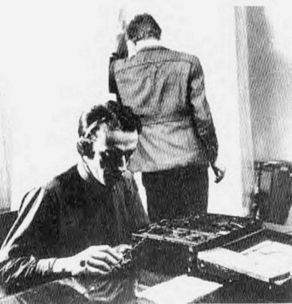 Les opérateurs radios de la résistance