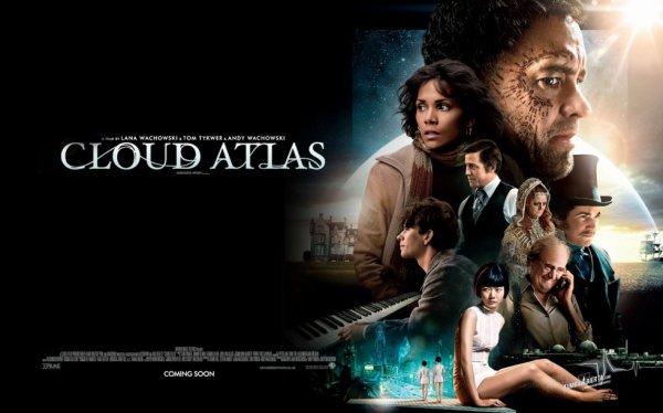 le filme Cloud Atlas  époustouflé jeux dateur tous les   personnage son magnifique Une Histoire de L'universalité du genre humain le coté bon et mauvais de l'homme sur la vie terrestre et spirituelle an un mot magnifique a voir je vous le recommande mon fils l'a acheté je les  vus 4 fois   déjà  en Blu-ray bien sur  bien sur il faut aimer Science-fiction comme   moi elle vous permet de vous évader du monde au quelle on vis je suis un grand amateur de filme et du cinéma sur grand écran ou cher soi sur un écran plasma an HD