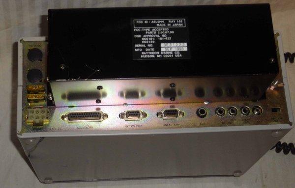 Raytheon Ray-152 HF SSB ham marine radio transceiver JRC JST-135 JSB-176 USB LSB